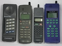 bt cellnet mobile phone 1998