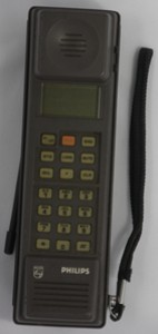 Philips PRC30 mobile phone, 1988
